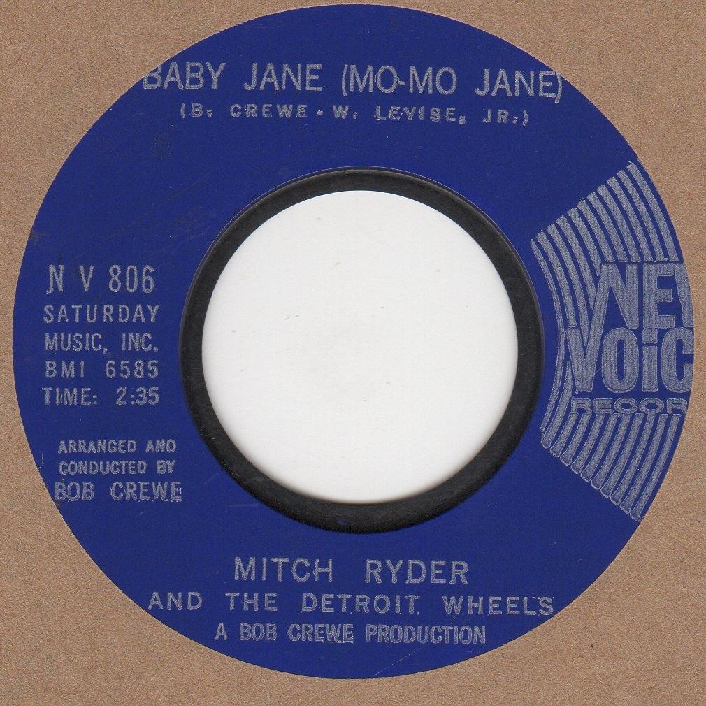 Mitch Ryder - Baby Jane ( Mo Mo Jane )