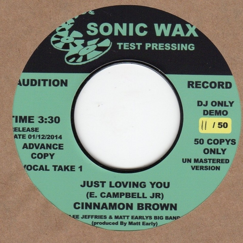 Just Loving You (unissued)