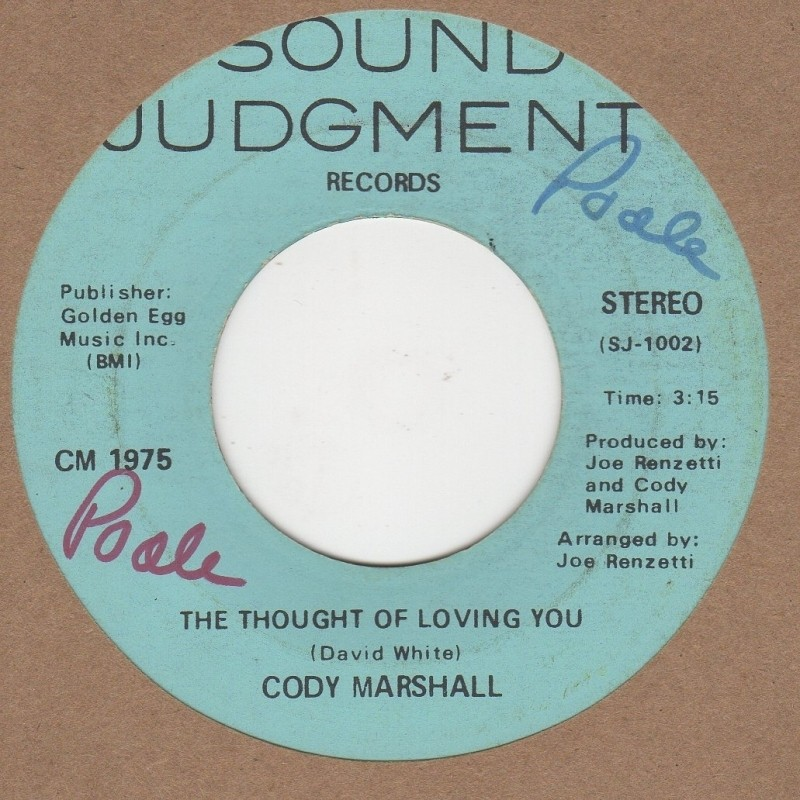 The Thought Of Loving You / Harmony