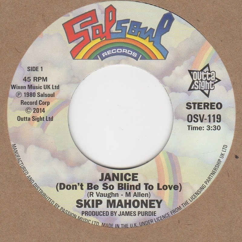 Janice (Dont Be So Blind To Love) / Dont Stop Me Now