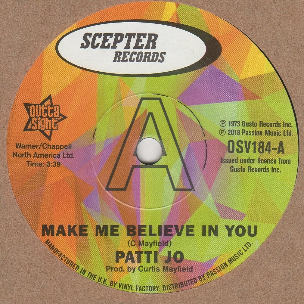 Make Me Believe In You
