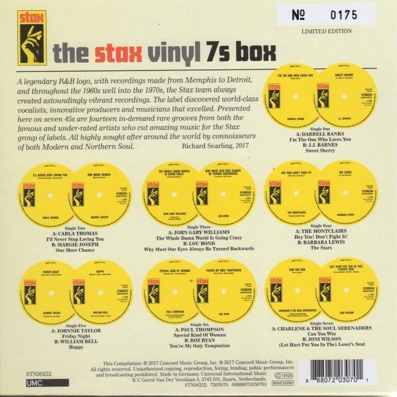 Stax Vinyl 7s 45s Box Set