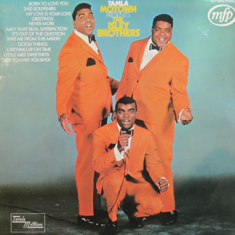 Tamla Motown Presents The Isley Brothers LP