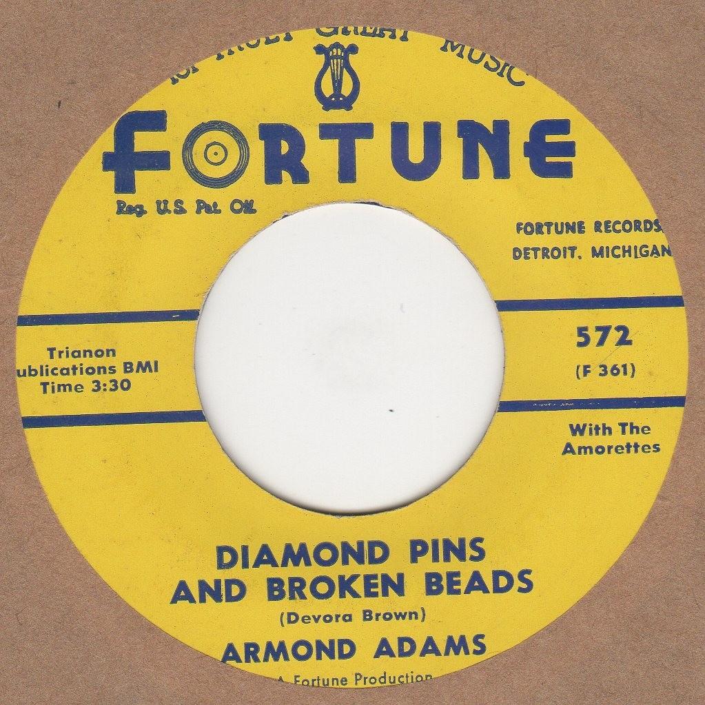 Diamond Pins & Broken Beads
