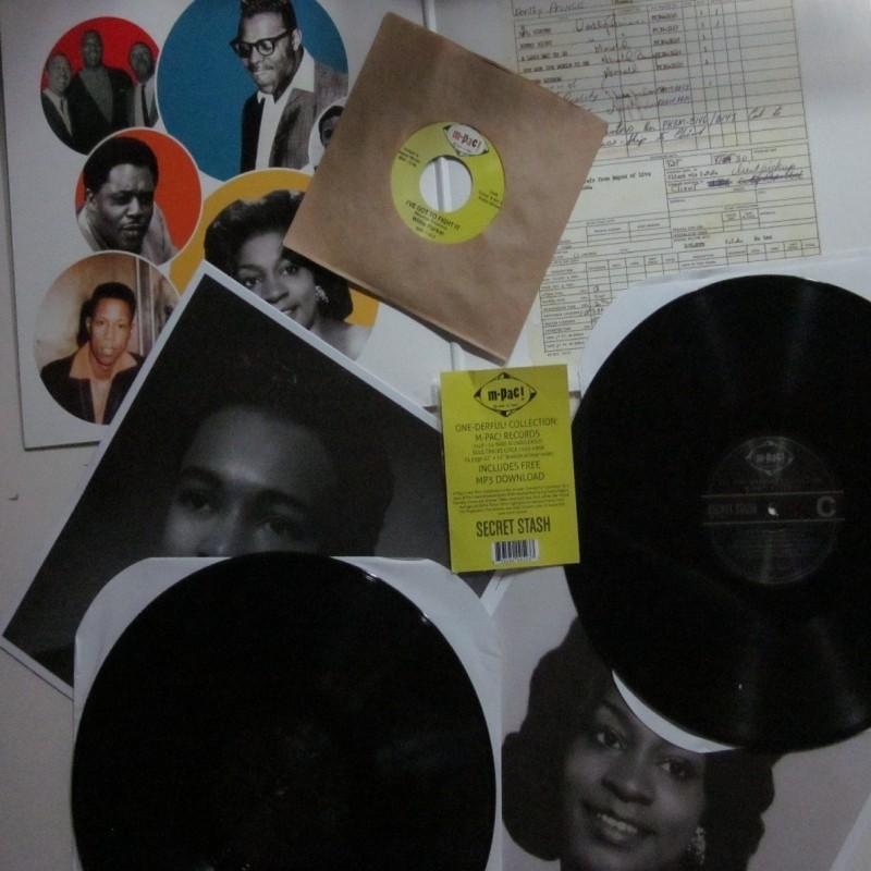 M-pac Double LP & 45rpm (unissued)