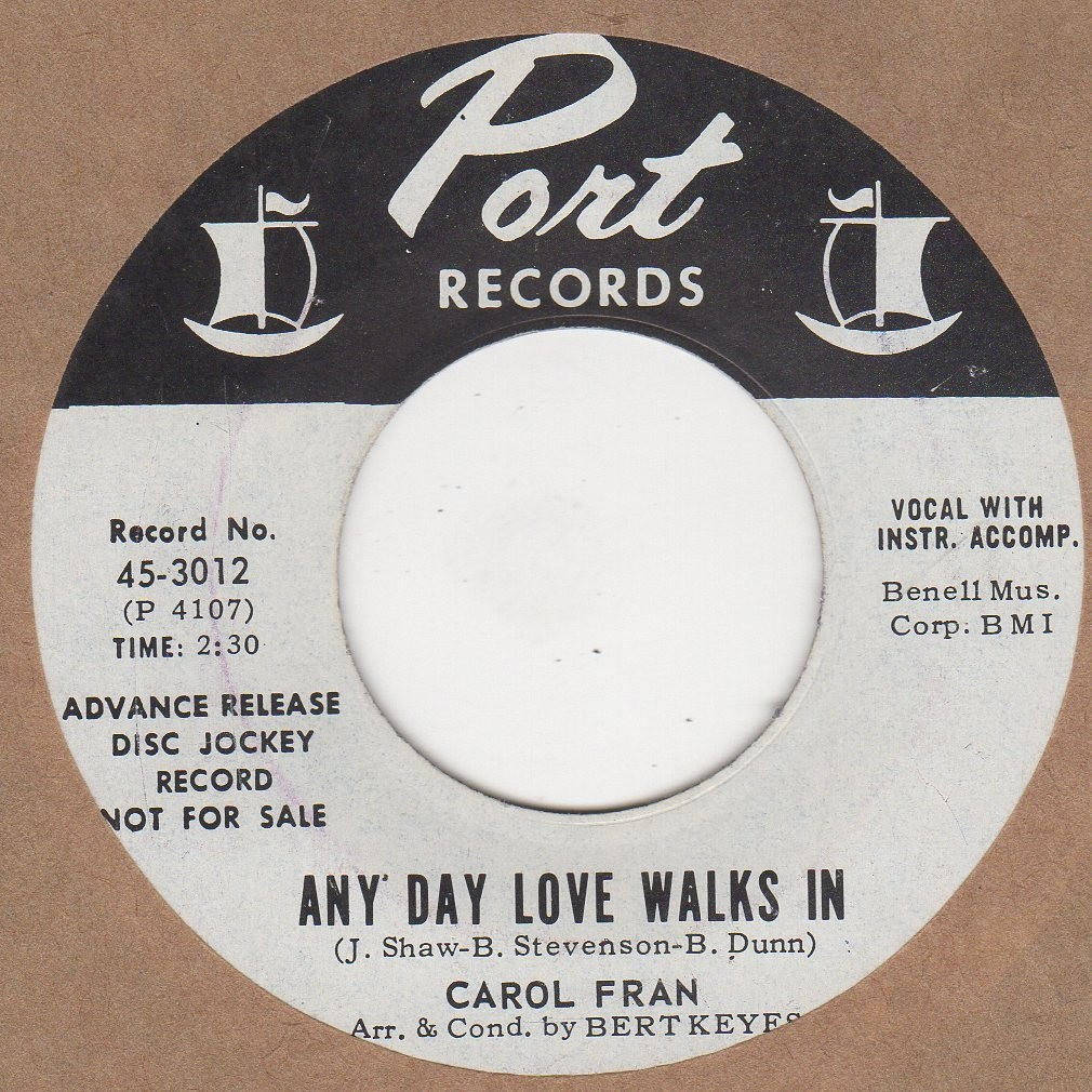 Any Day Love Walks In