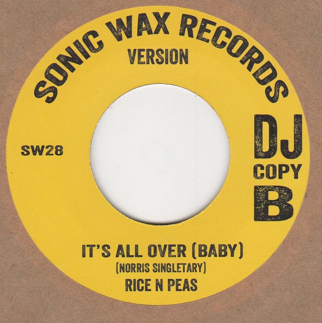 It's All Over (Baby) (reggae)