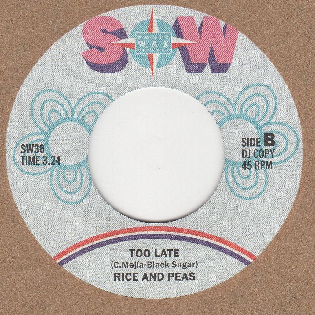 Too Late (reggae)
