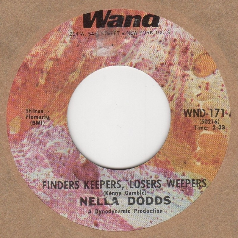 Finders Keepers Losers Weepers