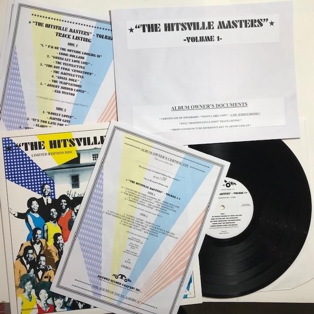 Hitsville Masters LP Vol 1