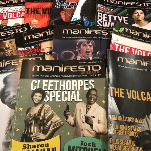 includes signed volcano's,cleethorpes special,northern soul film special and many more