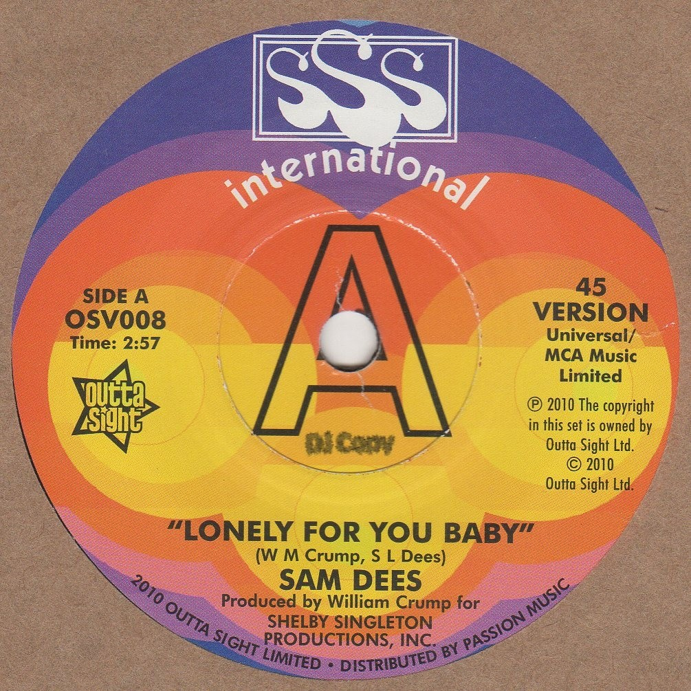 Lonely For You Baby (ALT)