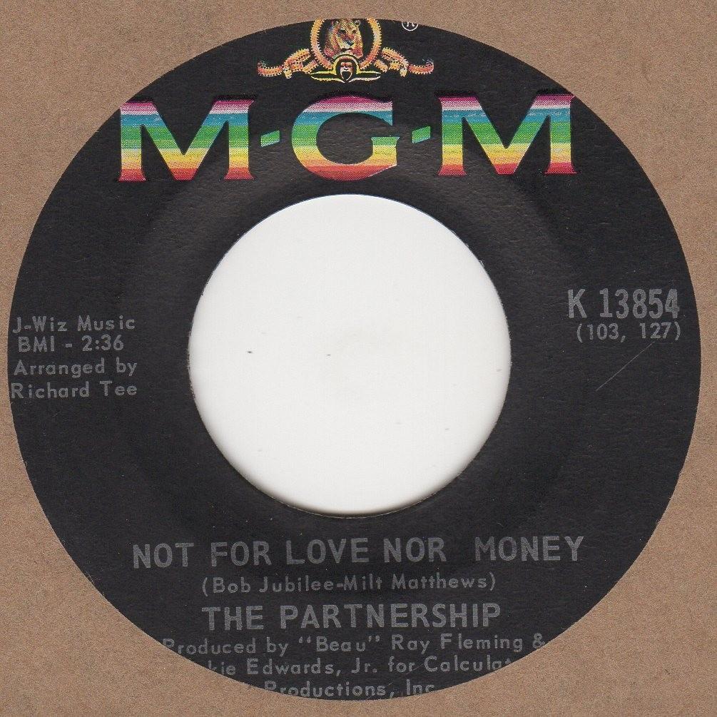 Not For Love Nor Money