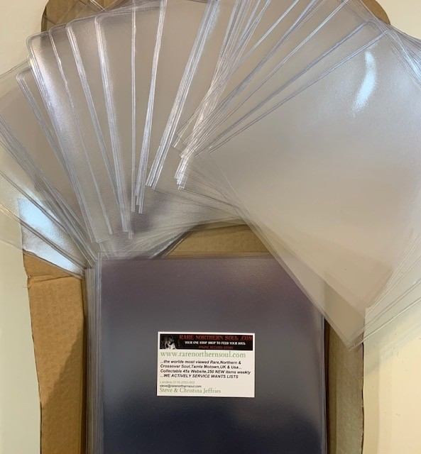 100 Thick PVC Sleeves