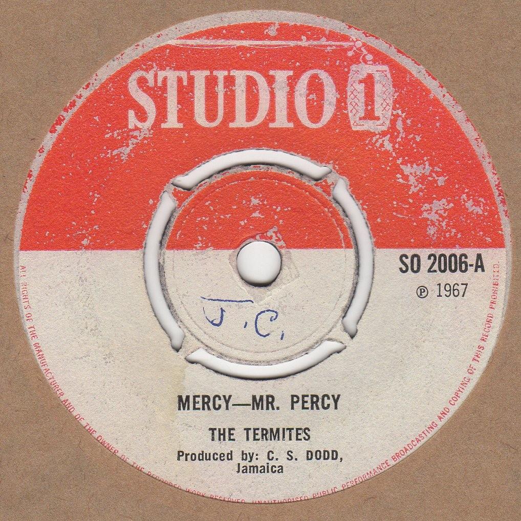 Mercy Mr Percy