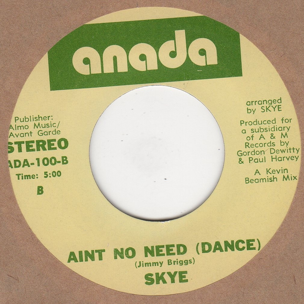Aint No Need (Dance)