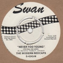 Never Too Young / Golden Teardrops
