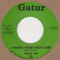 I Peeped Your Hole Card