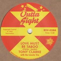 Love Must Be Taboo