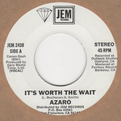 It's Worth The Wait / Instrumental