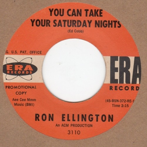 You Can Take Your Saturday Nights / The Ballad Of Billy Strong