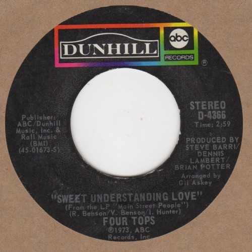 Sweet Understanding Love / Main Street People