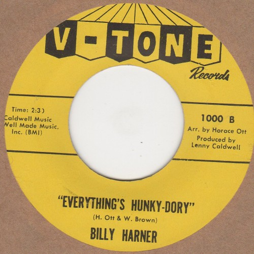 Everythings hunky dory