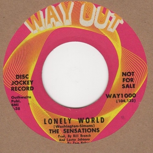 Lonely World / Gotta Find Myself Another Girl