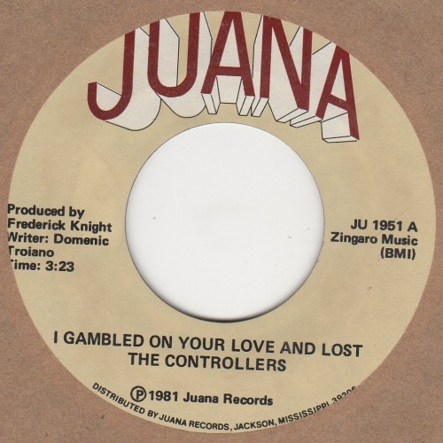 I gambled on your love and lost