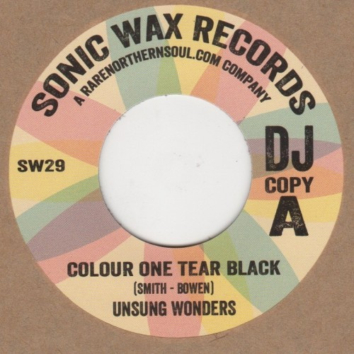 Colour One Tear Black / Reggae Version