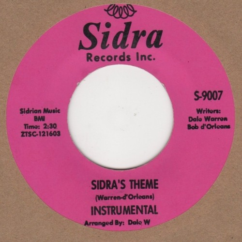 Sidras Theme / Blow Out The Candle