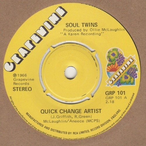 Quick Change Artist / Give The Man A Chance