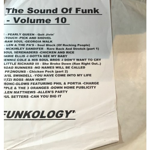 Sound Of Funk Vol 10 LP