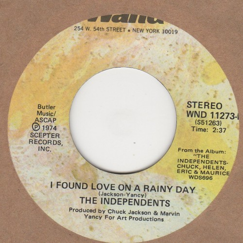 I Found Love On A Rainy Day