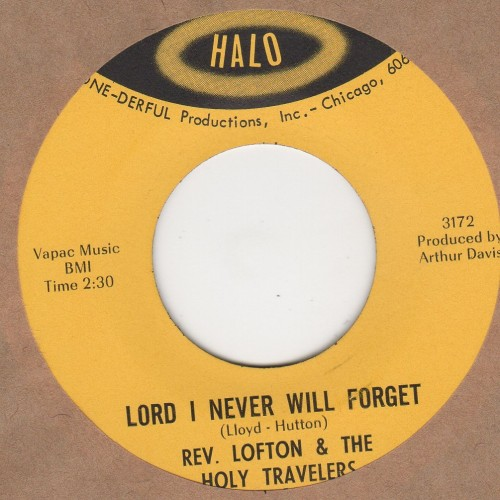 Lord I Never Will Forget