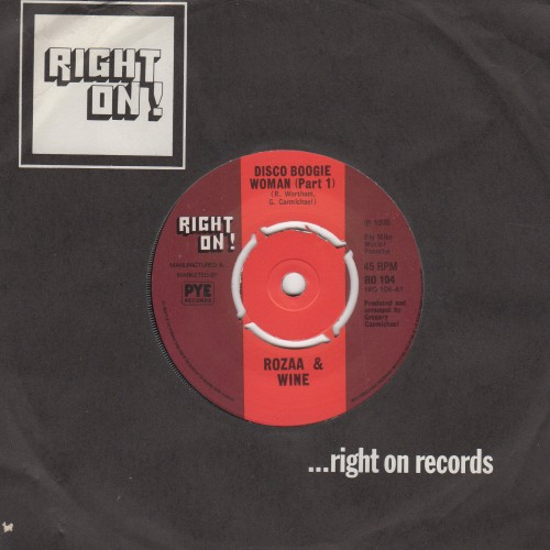 Disco Boogie Woman pt 1