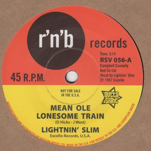 Mean Ole Lonesome Train