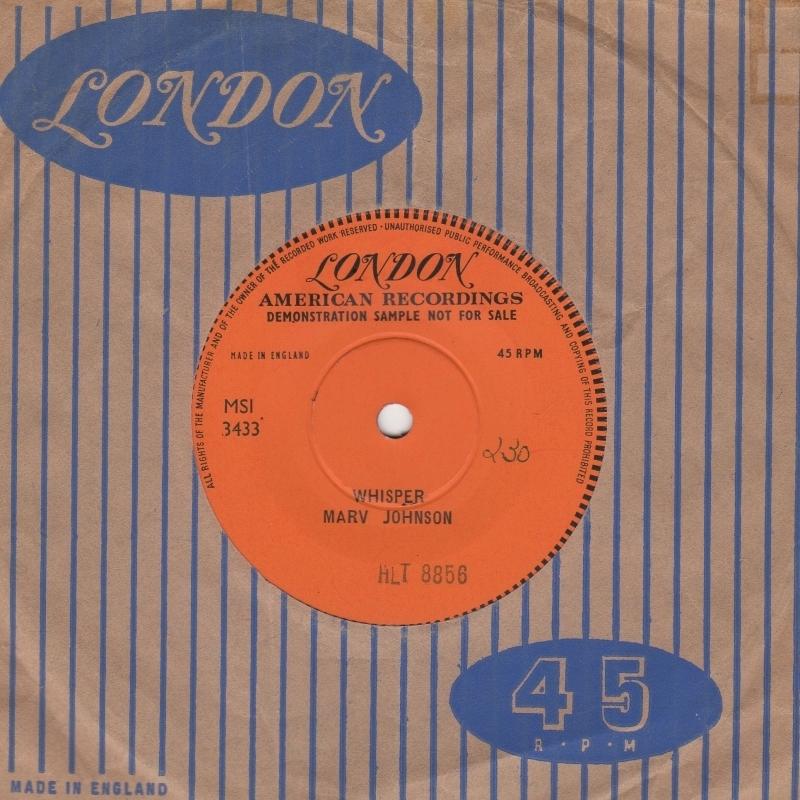 Mint 1st Uk Motown 45