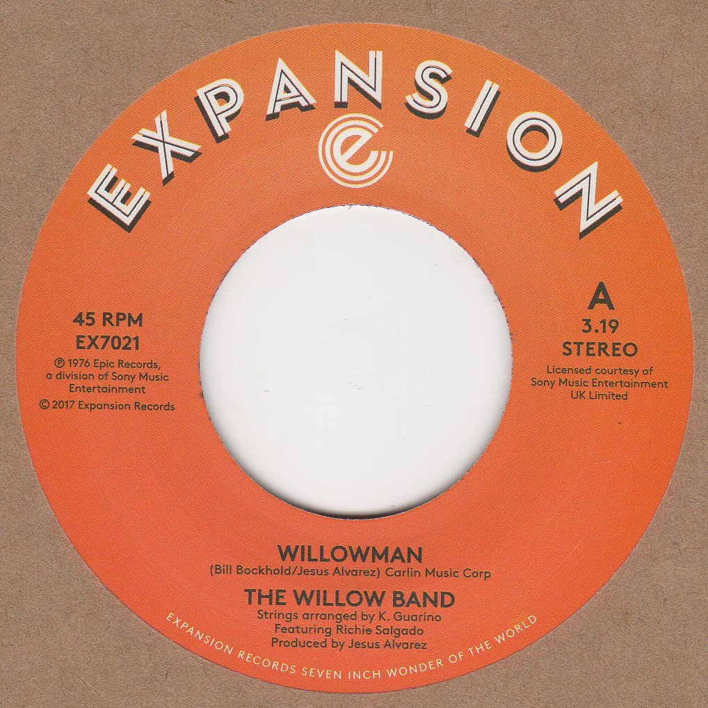 Details about Willow Band Willowman Expansion EX7021 Soul Northern Motown