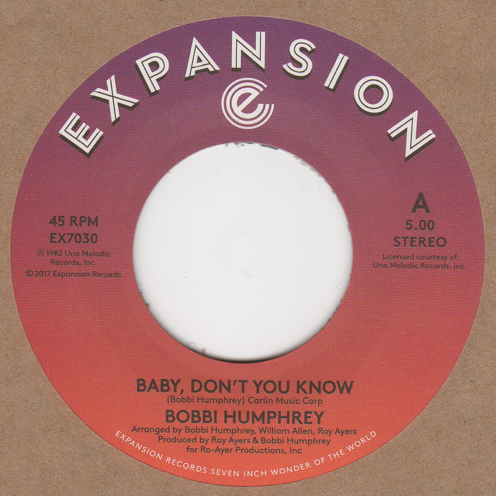 Details about Bobbi Humphrey Baby Don't You Know Expansion EX7030 Soul  Northern Motown